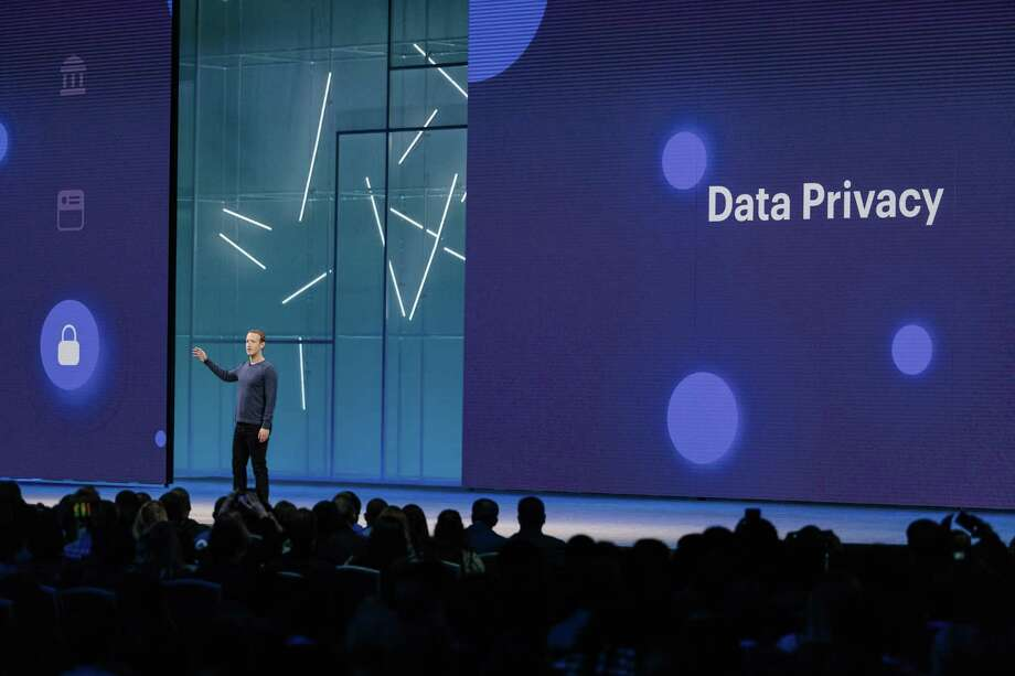 FILE-- Mark Zuckerberg, Facebooka€™s chief executive, speaks at F8, the companya€™s annual developer conference in San Jose, Calif., May 1, 2018. On Aug. 20, 2019, the company introduced a new tool, called Off-Facebook Activity, that lets people better see and control the information that Facebook has gathered about their browsing habits outside the social network. (Jason Henry/The New York Times) Photo: JASON HENRY / NYTNS