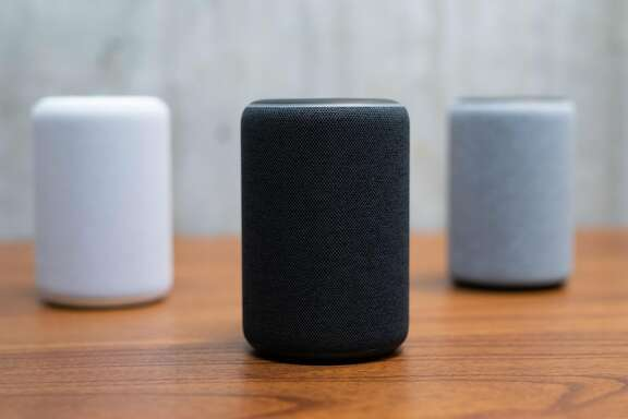 Amazon, along with a host of other technology companies, is working on ways to use its smart speaker devices to bring a range of health care services into your home. (Grant Hindsley/AFP/Getty Images/TNS)