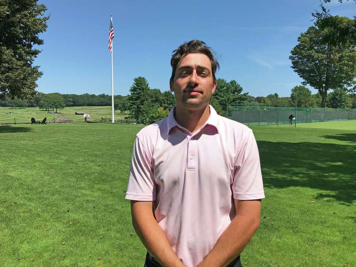 Greenwich's Paul Pastore shot a 7-under 64 at the 104th Met Open at Piping Rock Club in Locust Valley, N.Y. on Tuesday, August 20, 2019.