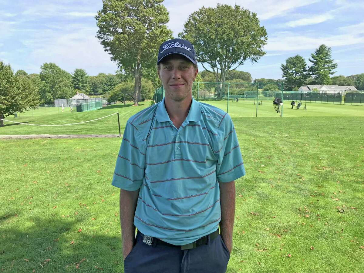Andrew Gai shot a 5-under 66 at the 104th Met Open at Piping Rock Club in Locust Valley, N.Y. on Tuesday, August 20, 2019