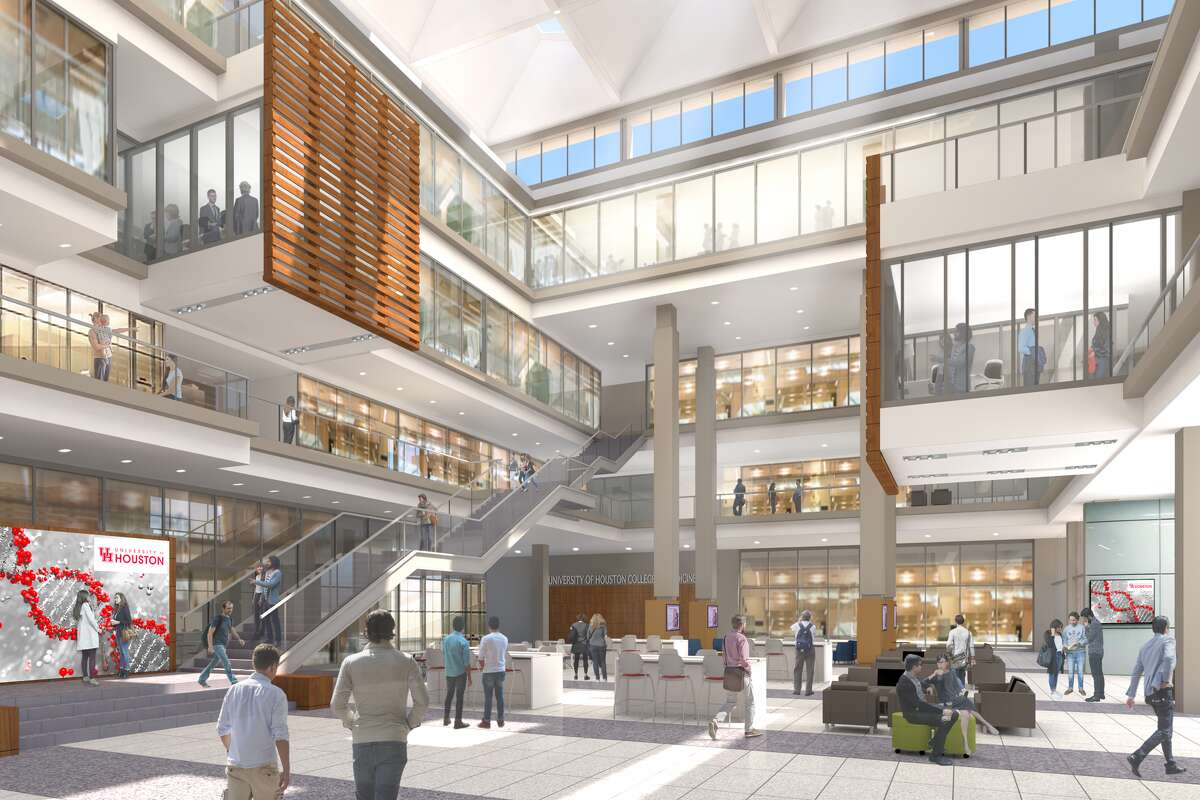 UH College of Medicine artist's rendering of the interior view
