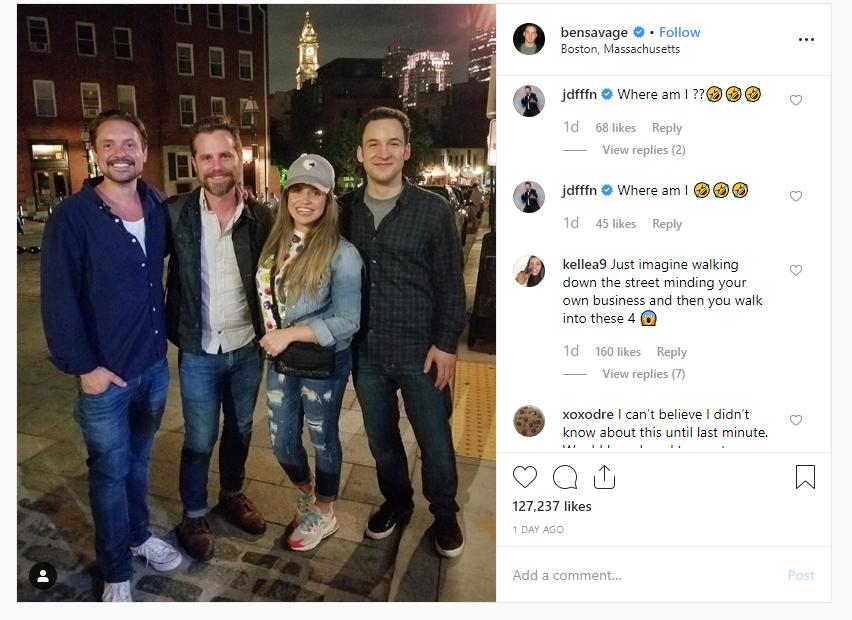 'Boy Meets World' cast members reunite on streets of Boston
