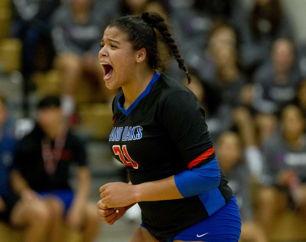 Newcomer of the YearFallon Thompson, Grand Oaks, So.Grand Oaks' debut varsity season was nearly perfect with 36 wins and an area round appearance. Thompson chipped in 580 kills, a .254 hitting percentage, 245 digs, 112 aces and 39 blocks.