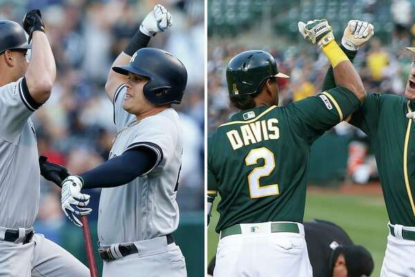 A's win; are they in the Yankees' league?