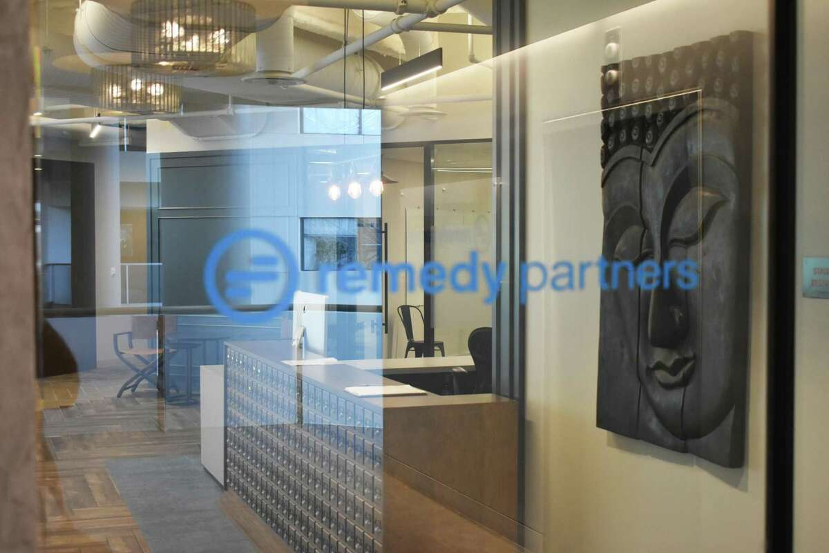 The headquarters office of Remedy Partners at 800 Connecticut Ave. in Norwalk, Conn.