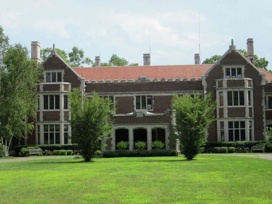 Waveny Park in New Canaan has some great examples of attractive architecture. Shown is the main mansion at Waveny. - Photo by John H. Palmer Photo: File Photo / ST / New Canaan News