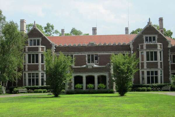 Waveny Park in New Canaan has some great examples of attractive architecture. Shown is the main mansion at Waveny. - Photo by John H. Palmer