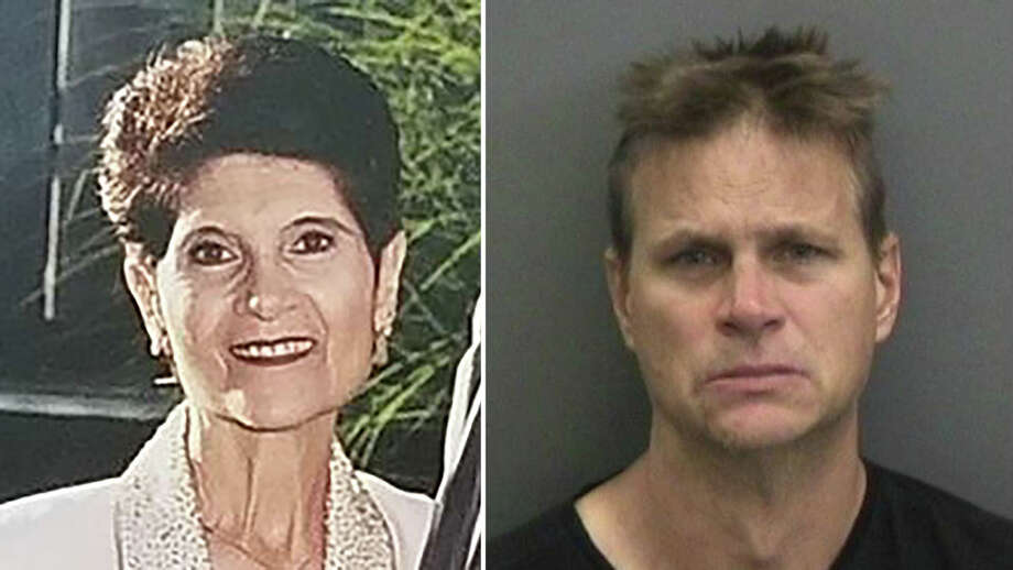 Sondra Better, 68, was found dead at a consignment store where she worked in August 1998. More than 20 years later, Todd Barket, right, is on trial for her murder. Photo: Delray Beach Police Department / The Washington Post