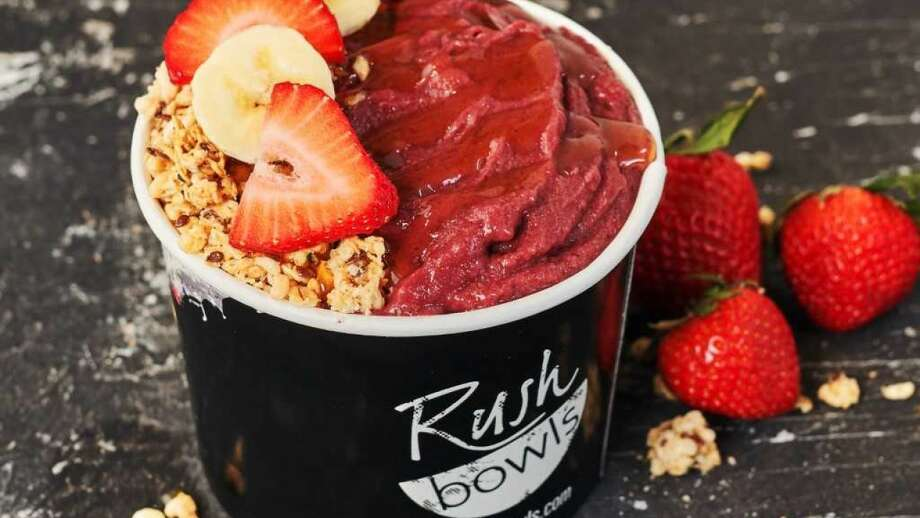 Rush Bowls plans to open its first Houston-area location near Memorial Park in late 2019. The Colorado-based fast-casual chain specializes in healthy meals-in-a-bowl options. Photo: Courtesy Rush Bowls
