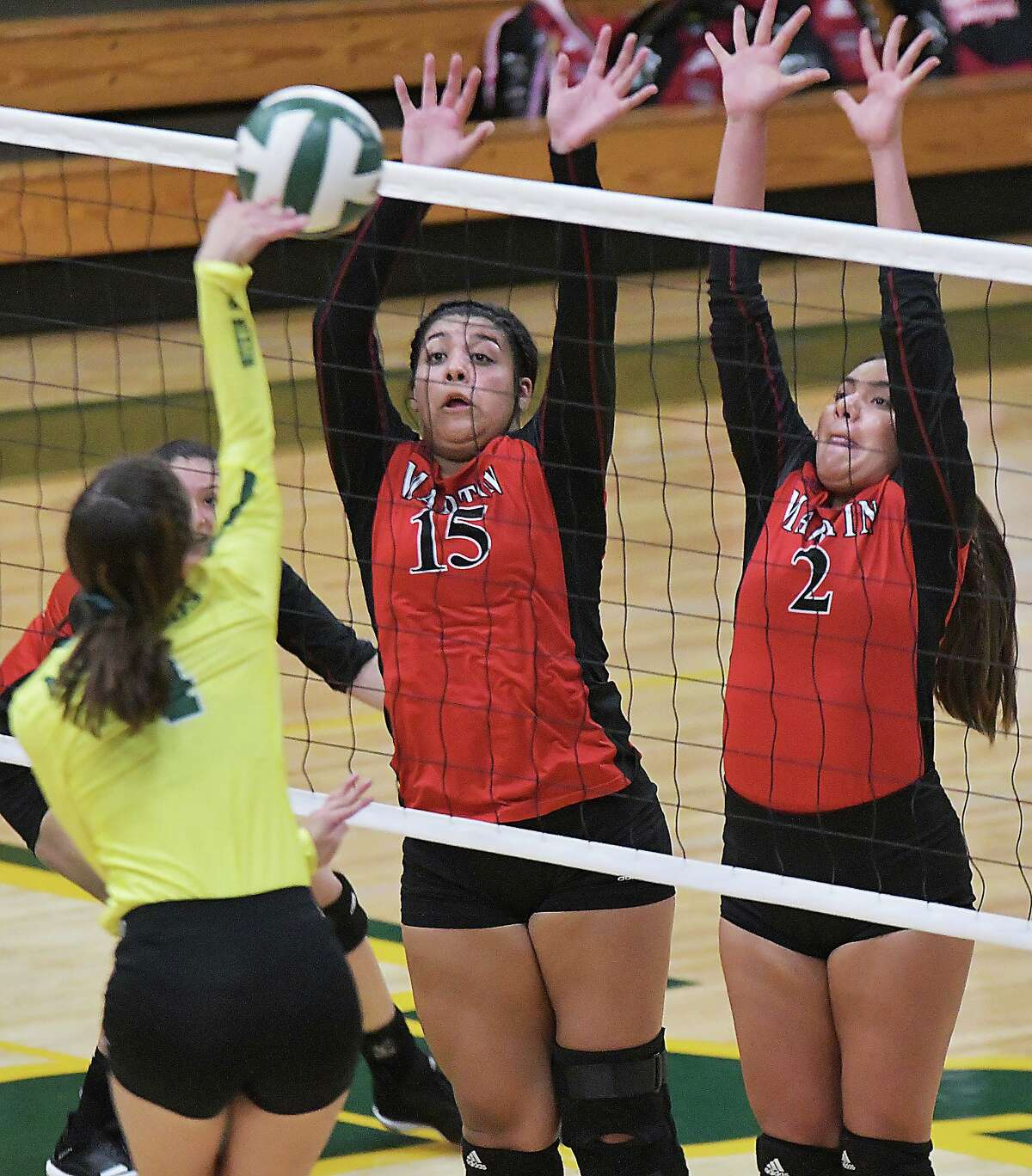 Melanie Duron (15) and Martin host Nixon at 6:30 p.m. as the rivals meet Tuesday for the first time in two years.