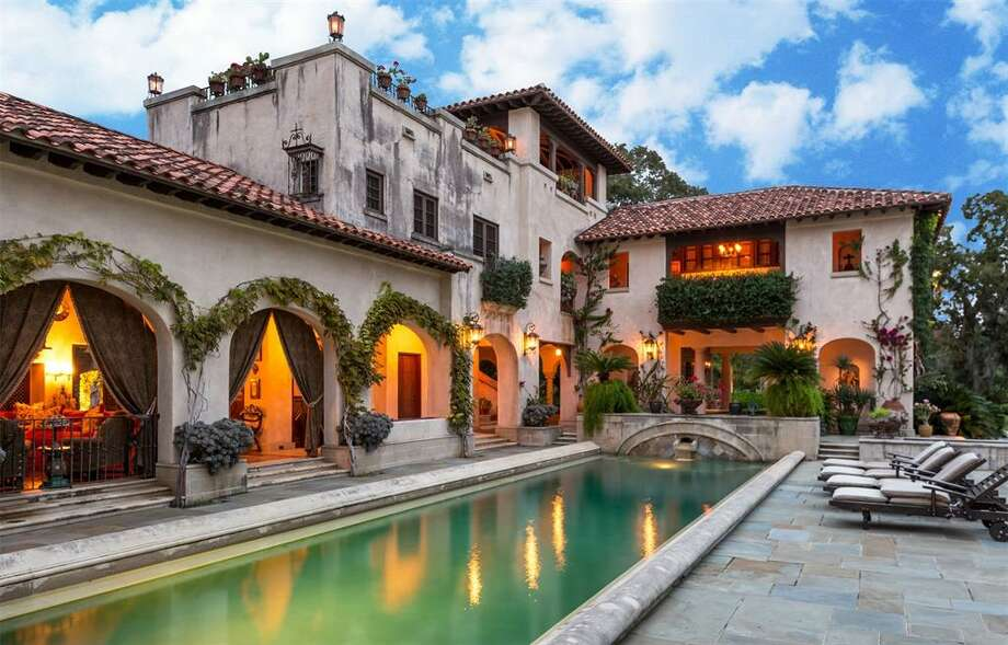 PHOTOS: Priciest homes sold in HoustonThe most expensive home sold in Houston last month is a Spanish-style mega-mansion designed by a famed architect credited with designing Rice University.>>>See more for the most expensive homes sold in Houston in July... Photo: Houston Association Of Realtors