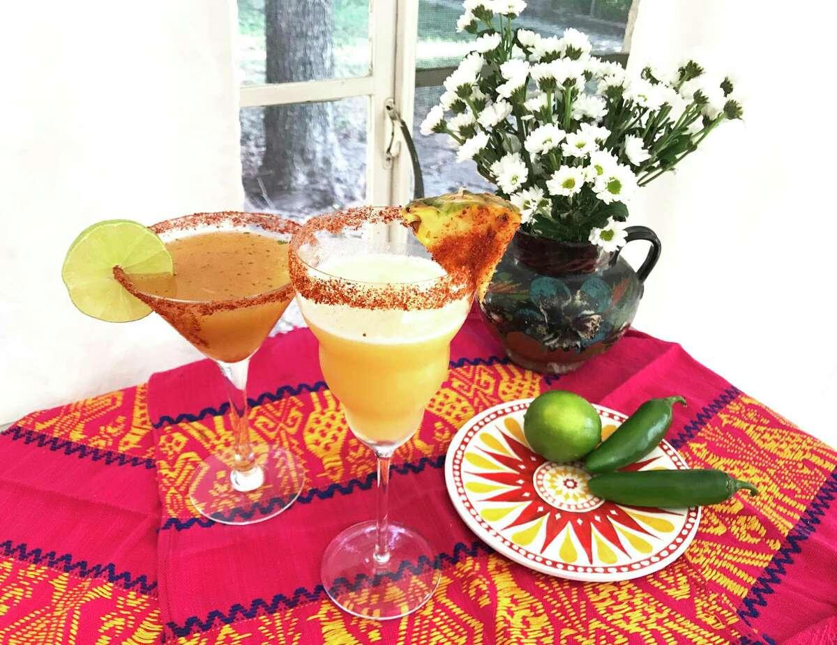 El Picador, left, and The Matador cocktails