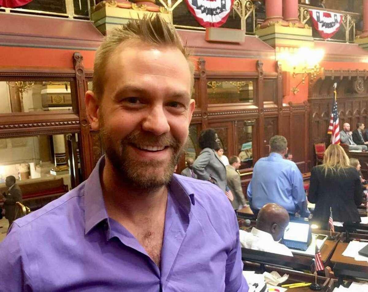Josh Elliott, D-Hamden, organizer of the Progressive Democrats caucus in the state House of Representatives