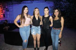 Denisse Martinez, Vivian Madrigal, Maripaz and Ali Sanchez at Siete Banderas Friday, August 9, 2019