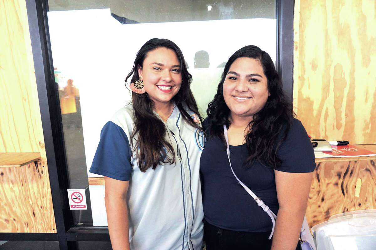 Vanessa Salazar and Blanca Ruiz at Uni-Trade Stadium Friday, August 16, 2019