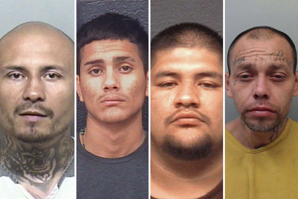 Record checks for the two decedents and the three wounded in separate shooting incidents at the same Laredo address show they had criminal records.