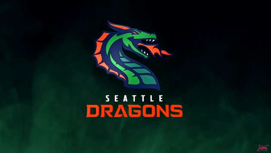 The XFL's Seattle Dragons. Photo: XFL