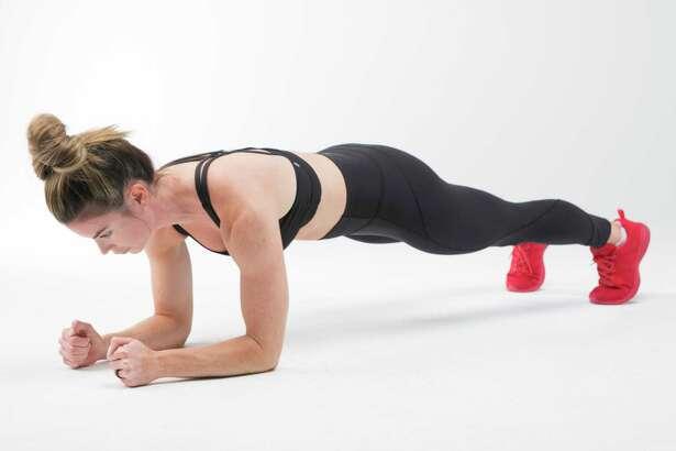 Plank Up. Step 1