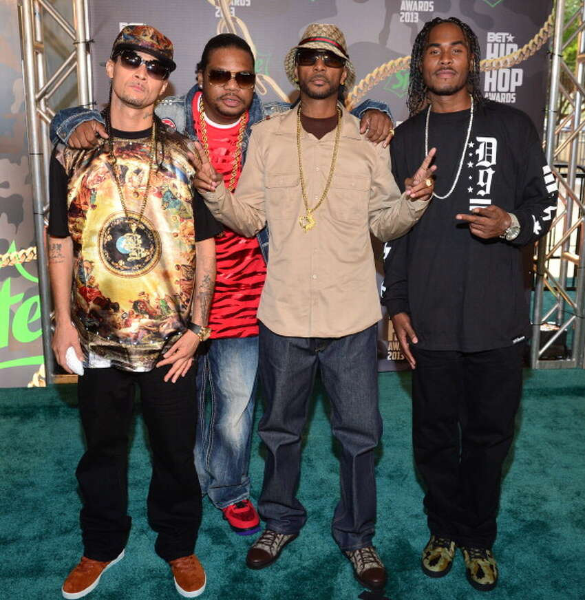 ATLANTA, GA - SEPTEMBER 28: Bone Thugs-N-Harmony attend the BET Hip Hop Awards 2013 at the Boisfeuillet Jones Atlanta Civic Center on September 28, 2013 in Atlanta, Georgia. (Photo by Prince Williams/FilmMagic)