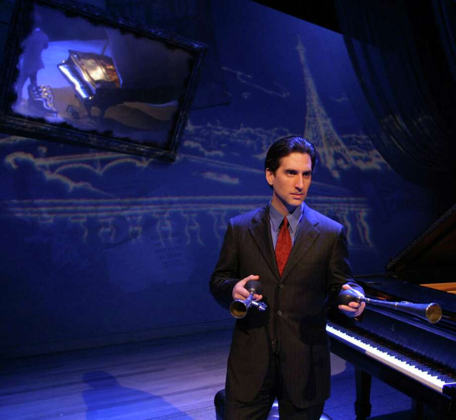 "Hershey Felder in ""Gershwin Alone."" Photo credit: Mark Garvin"
