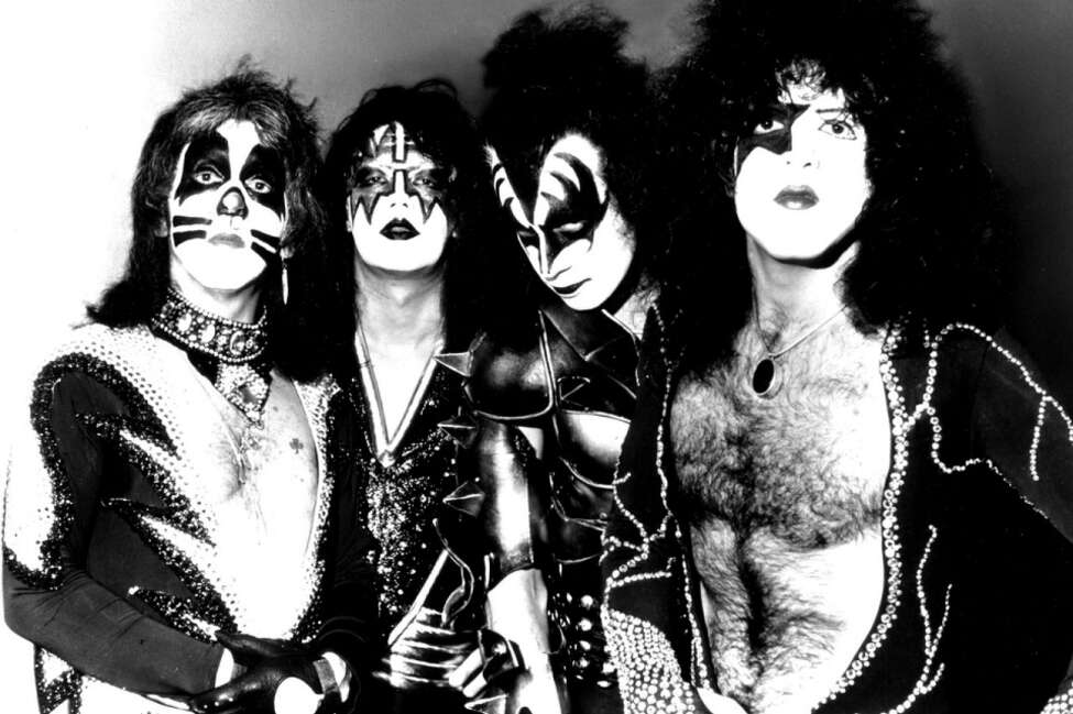 Kiss in their heyday (Getty Images)