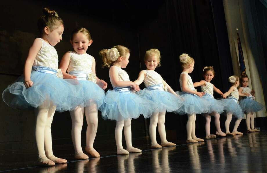 Young Darien Arts Center students at a recent spring concert. Registration is open for fall dance classes at darienarts.org. The Darien Arts Center Dance Program offers a variety of classes for all ages and skill levels; classes begin Sept. 3. Photo: Darien Arts Center / Contributed Photo
