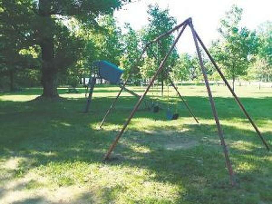 The roadside park offers a great spot to stop and play while traveling M-115. (Photo/Robert Myers)