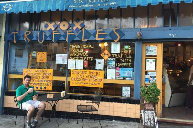 The owner of XOX Truffles was attacked on Monday, Aug. 19 by a stranger and was saved by his 13-year-old son.