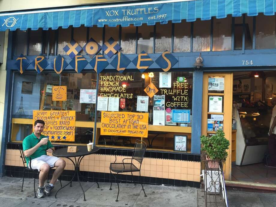 The owner of North Beach truffle shop XOX Truffles was attacked on Monday, Aug. 19 by a stranger and was saved by his 13-year-old son. Photo: Photo By Colleen H. On Yelp