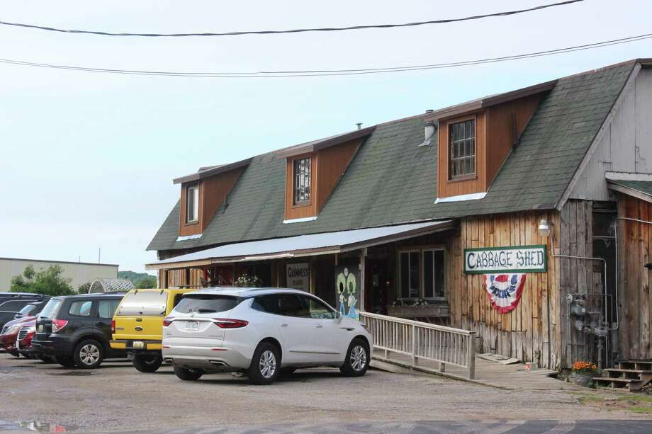 The Cabbage Shed building has been part of Elberta for more than 150 years. (Photo/Robert Myers)