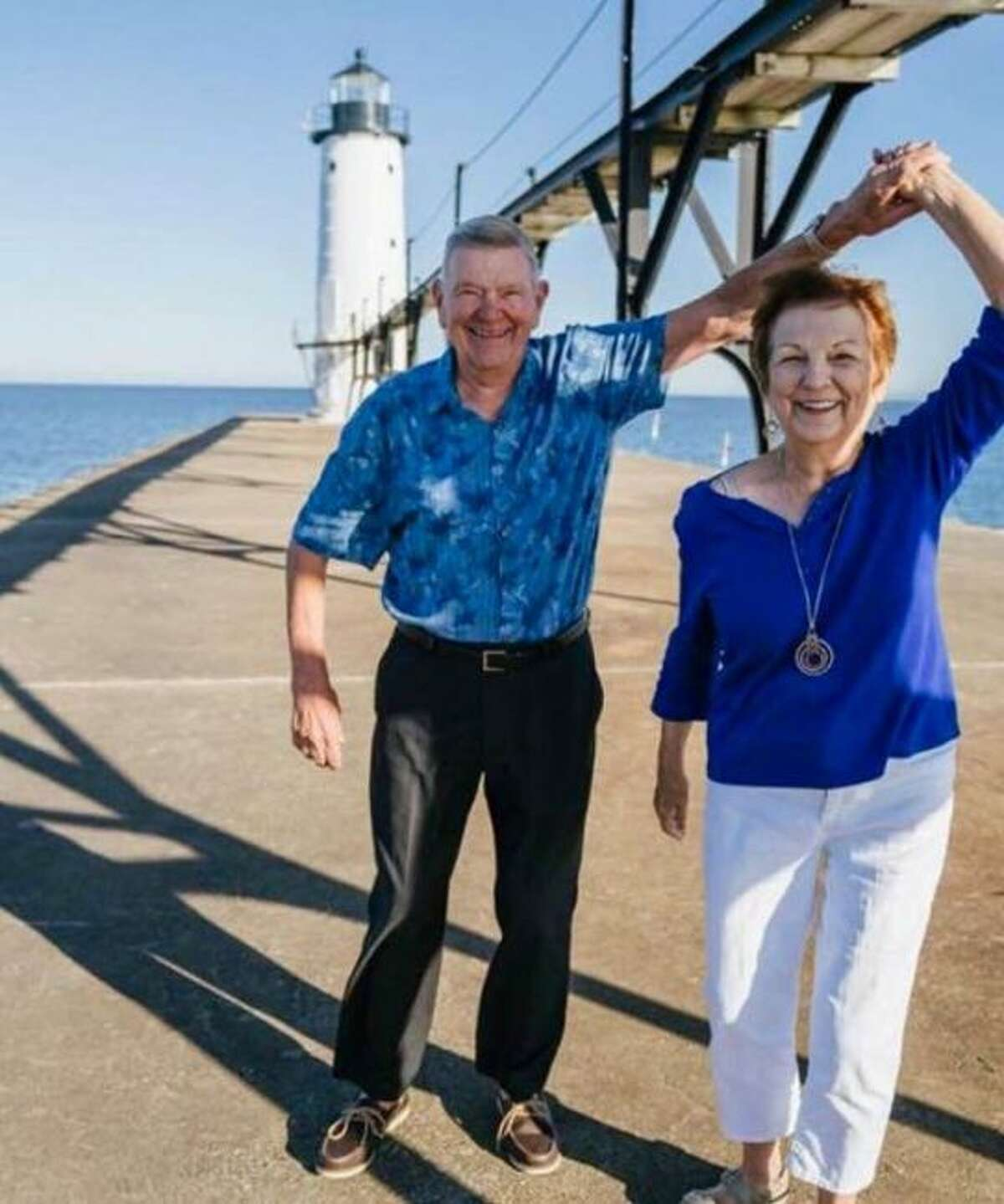 On July 13, Judy and Phil Asiala, of Manistee, will celebrate their 60th wedding anniversary with family and friends at the Manistee Elks Club. Judy and Phil were married on July 11, 1959. They have four daughters, 10 grandchildren and seven great-grandchildren. (Courtesy photo)