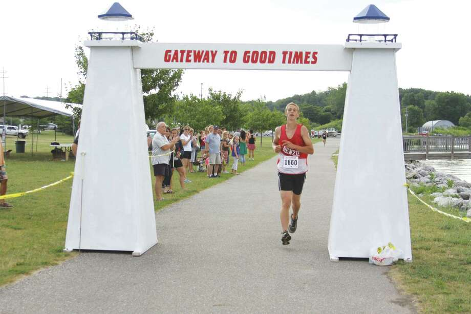 William Huddleston wins a previous running of the Port City Run. (File photo)