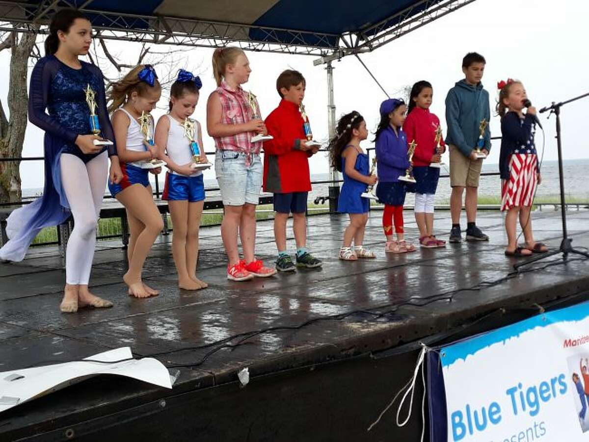 Ten children participated in the Little Big Shots talent show during the Manistee National Forest Festival. (Courtesy photo)