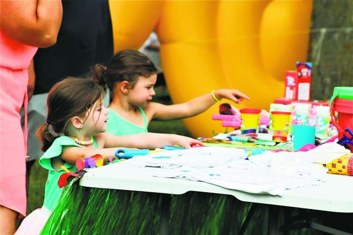 The 3rd annual Onekama Block Party to be held from 5-9 p.m. on Thursday will feature a host of family-friendly activities. (News Advocate File Photo)