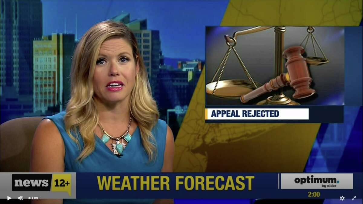 A News 12 broadcast on Aug. 21, 2019. A Delaware judge scheduled a Sept. 4 trial for a lawsuit by News 12 creator Charles Dolan and his family against Altice USA, which they claim breached terms of a contract in laying off News 12 staff after acquiring parent company Cablevision in 2016. (Screenshot via News 12)