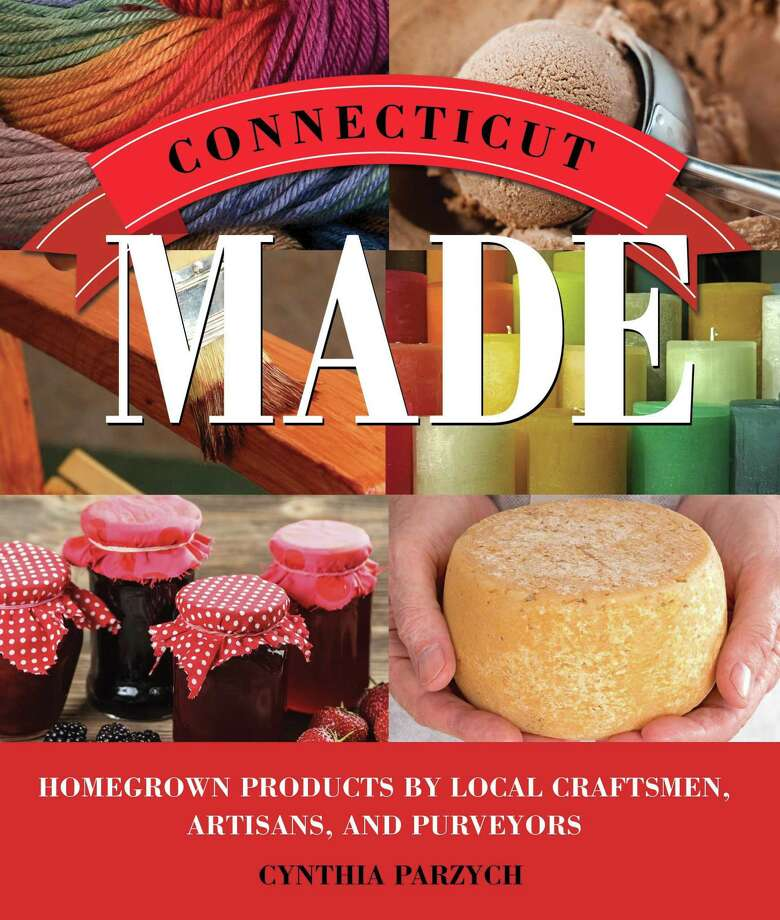 """The David M. Hunt Library in Falls Village will host Glastonbury author Cynthia Parzych, who will discuss her book, """"Connecticut Made,"""" about the breadth and vitality of artisan craftsmen and small businesses in the Nutmeg State. Photo: Contributed Photo"""
