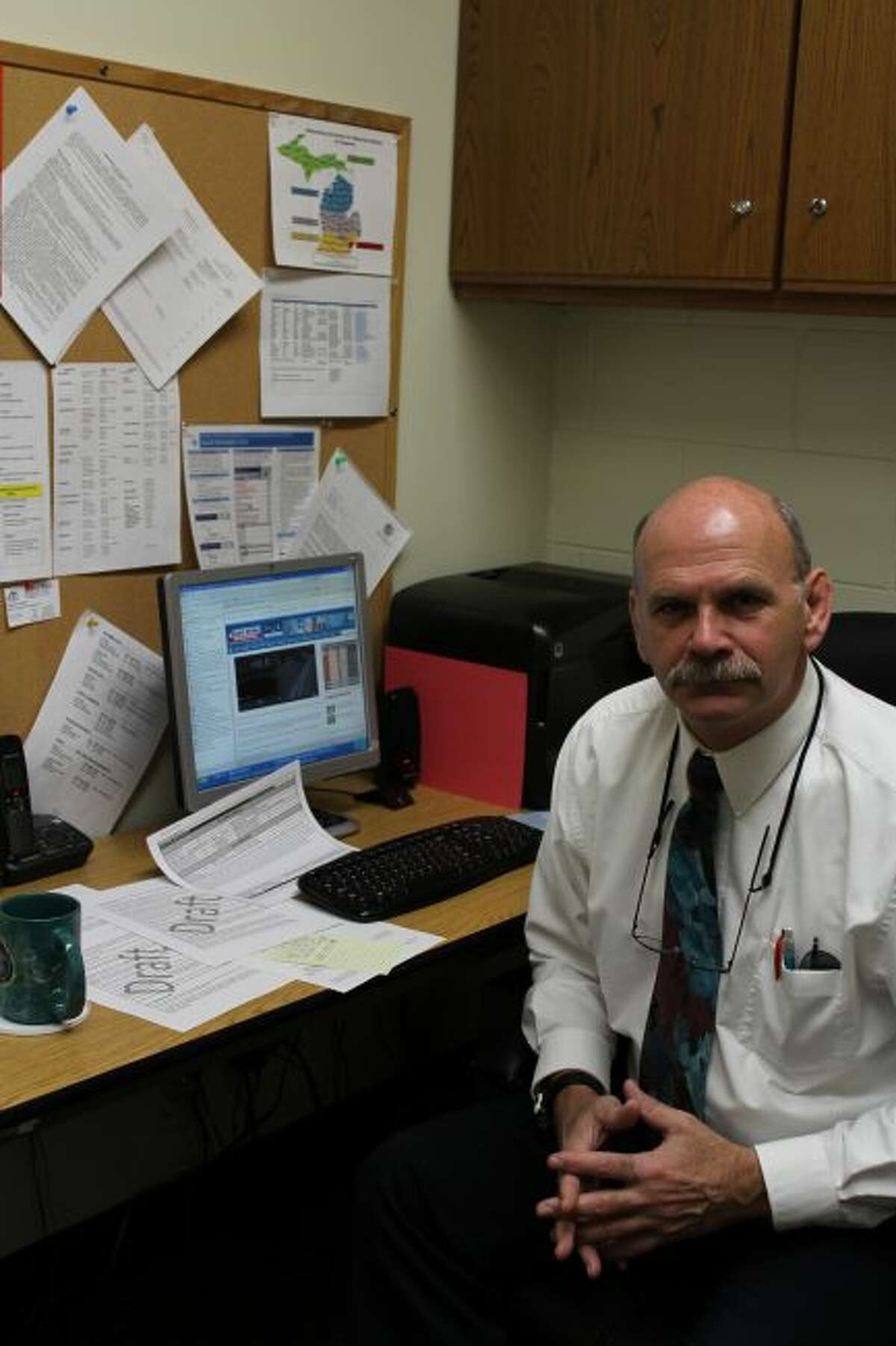 Frank Post recently retired from his position as Benzie County Emergency Management Coordinator. (Courtesy Photo)