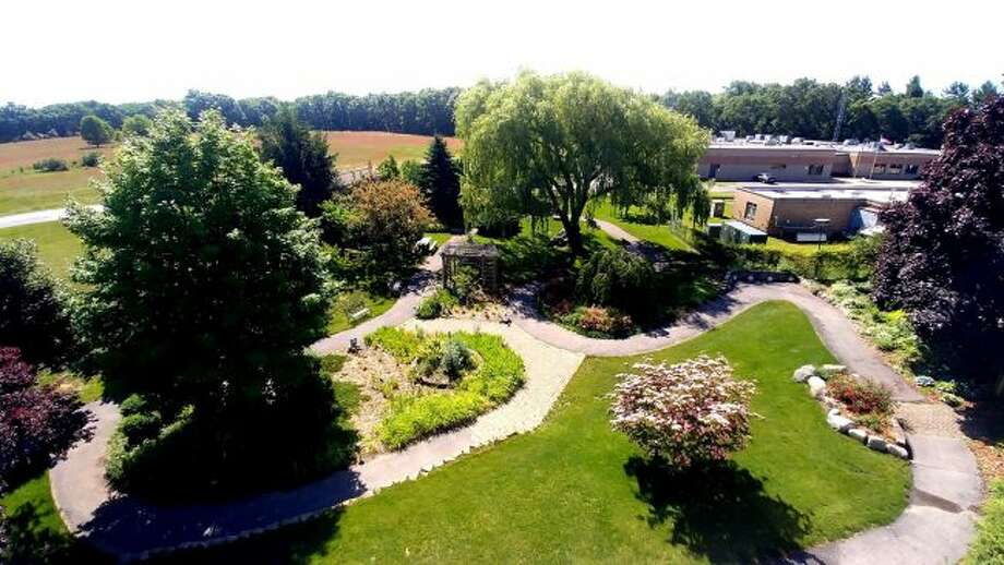 Spirit of the Woods Garden Club won state and national awards for their work beautifying the gardens at the Manistee County Medical Care Facility. (Courtesy photo)