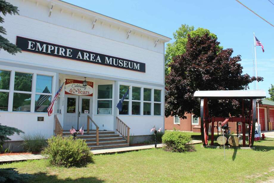 The Empire Area Museum Center is located in Empire, just off of M-22. (Photo/Robert Myers)