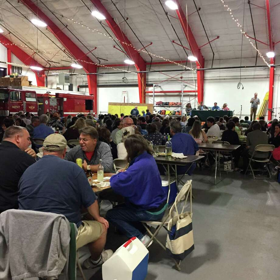 The Kent Quiz Night returns September 21 to the Kent Firehouse. Pictured is a scene from last year's event. Photo: Lucy C. Pierpont / Contributed Photo