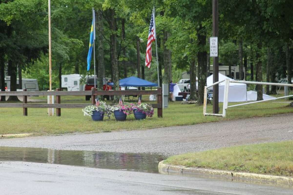 Kaleva Days, set for this weekend, experienced stormy weather on Saturday but carried on the next day. (Ashlyn Korienek/News Advocate)