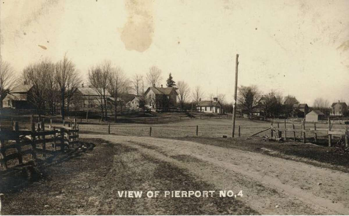 This early 1900s picture shows what Pierport looked like at that time.