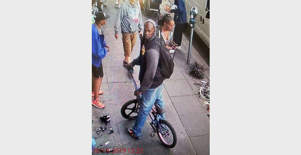 San Francisco police released images of a suspect in an August 18 assault in San Francisco's SoMa neighborhood. The victim died Tuesday, August 20.