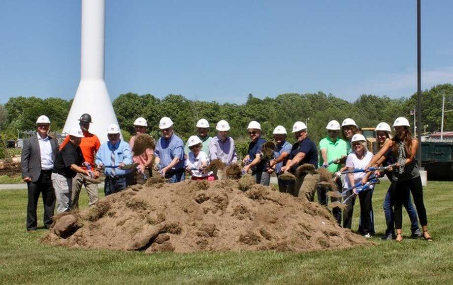 Fab-Lite, Inc., of Manistee, celebrated a groundbreaking ceremony on July 16, the first expansion in 25 years. (Courtesy Photo)