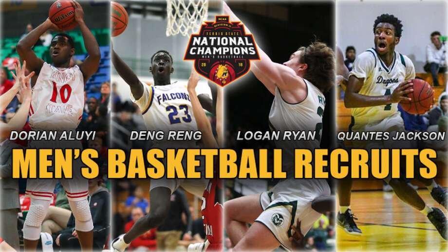 The Ferris State basketball program announced its four-member 2019 recruiting class on Wednesday. (Ferris State Athletics photo)