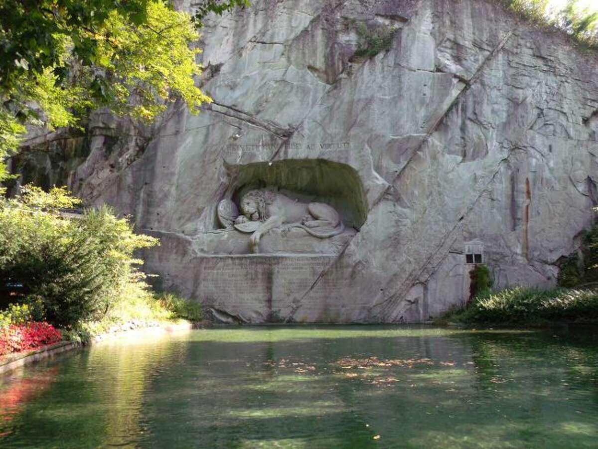 Lion Monument in Luzern. (Courtesy photo/Roxanne Rowley)