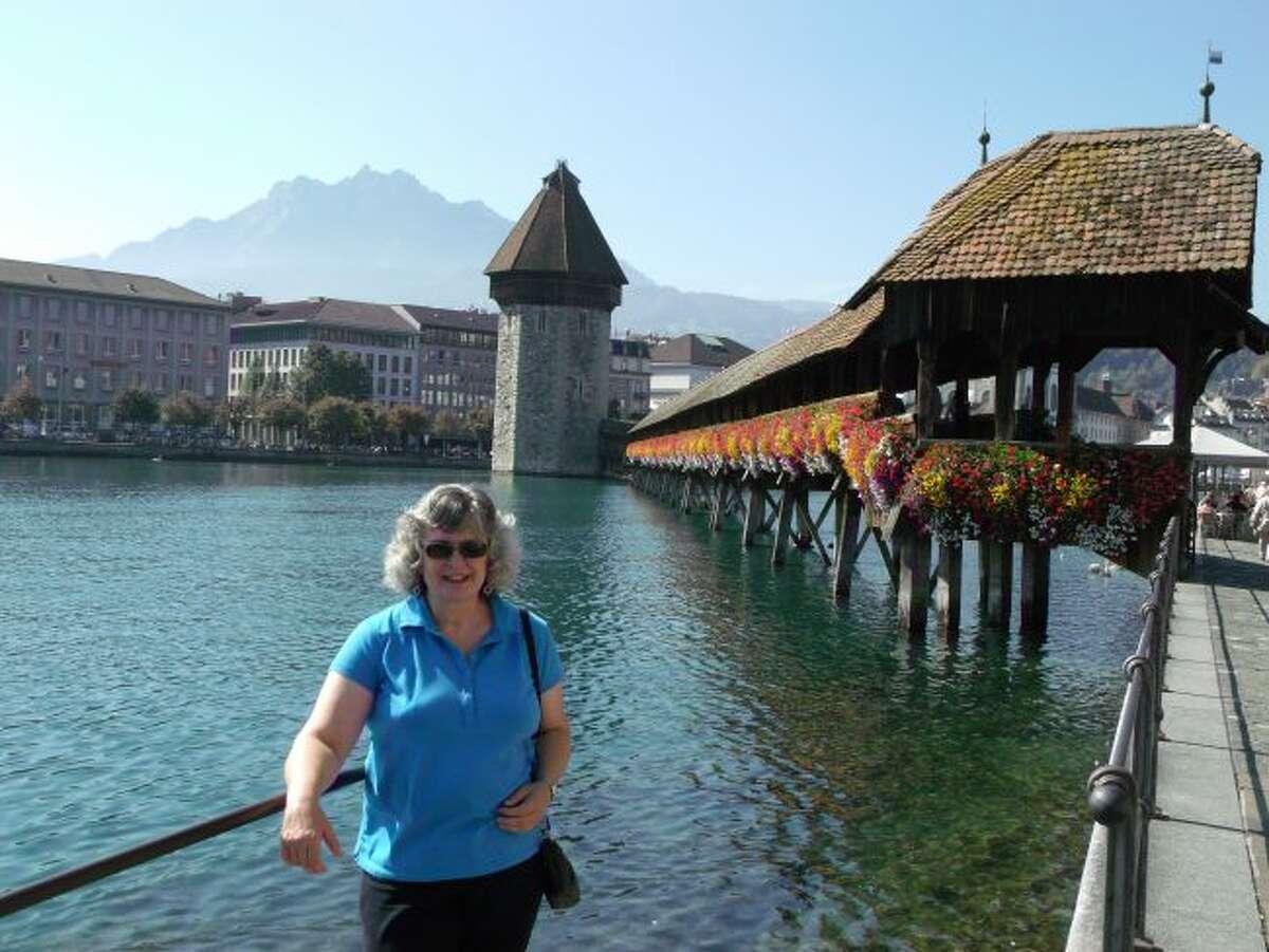 Chapel Bridge in Luzern. (Courtesy photo/Roxanne Rowley)