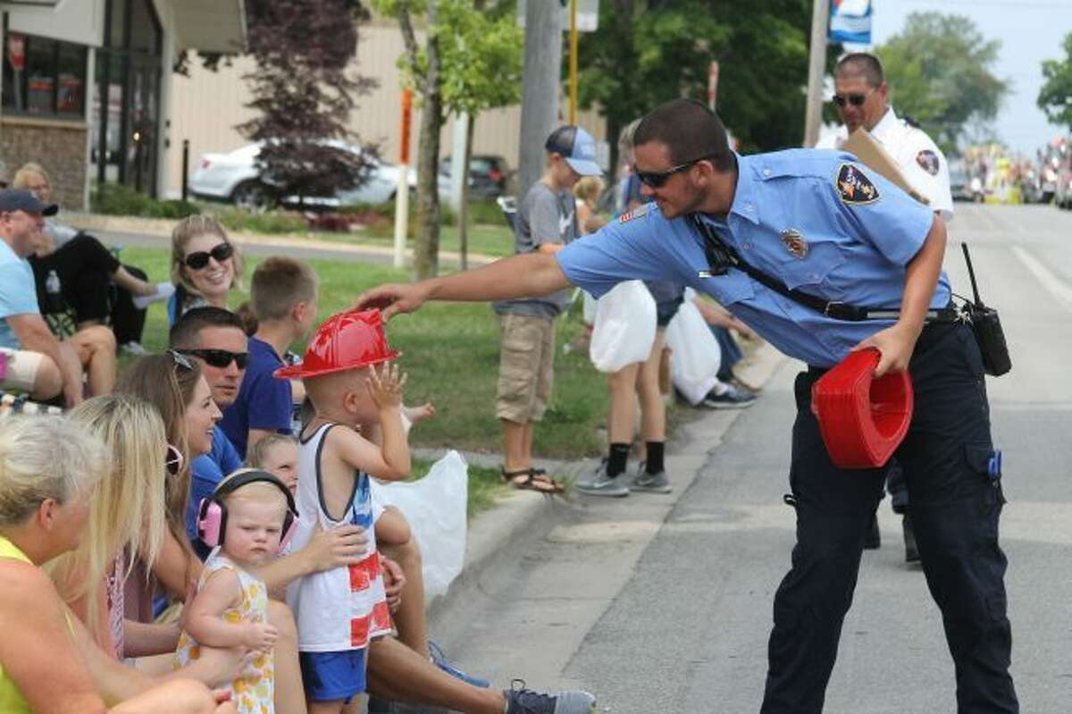 The Onekama Days Grand Parade will be held at 1 p.m. on Sunday. (News Advocate file photo)