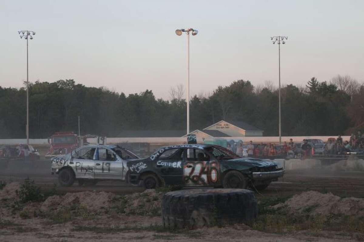 TNT Bump n Run and Demolition Derby are a returning favorite for Onekama Days and will take place on Saturday at the Manistee County Fairgrounds. (News Advocate file photo)