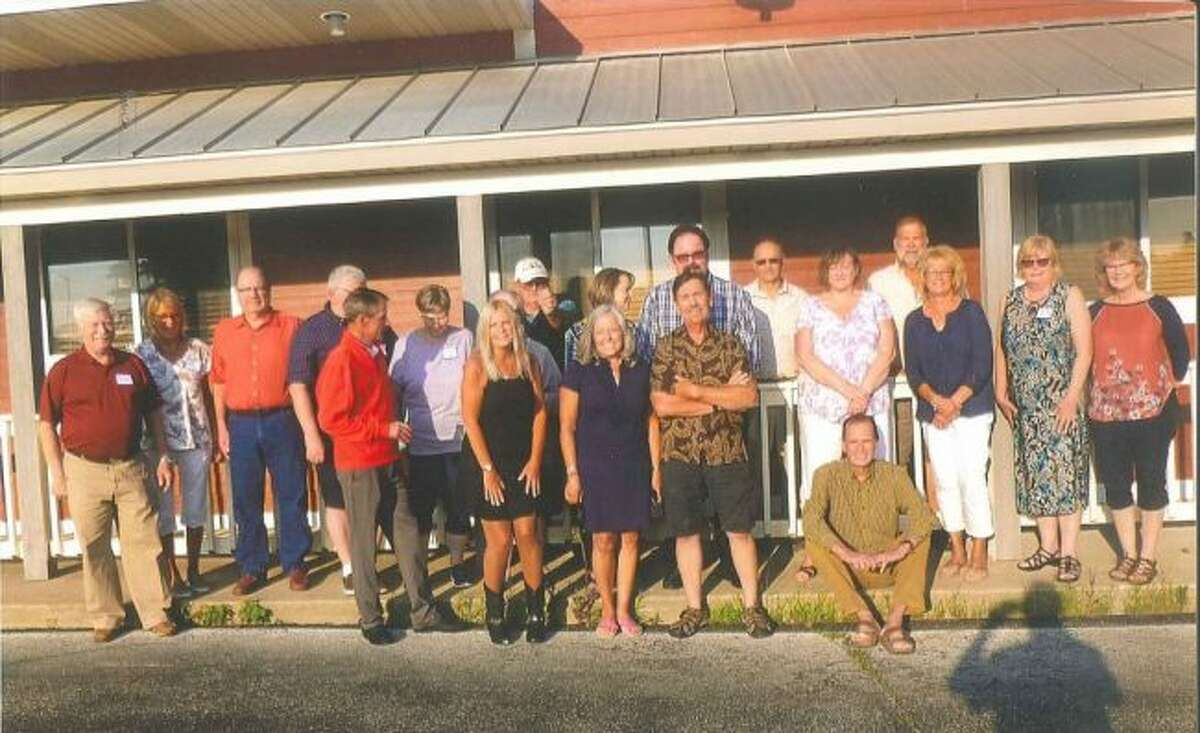 Manistee Catholic Central Class of 1972 celebrated their 47th class reunion at the Bungalow Inn. (Courtesy Photo)